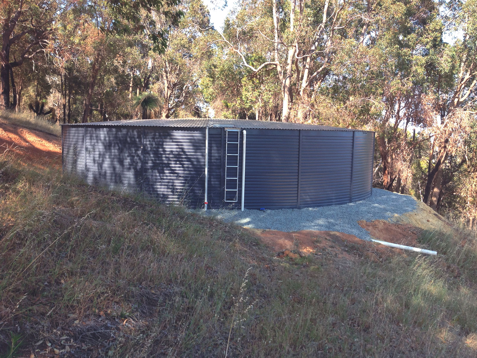 Huckleberry Tanks & Sheds - Installation of Fire Tanks