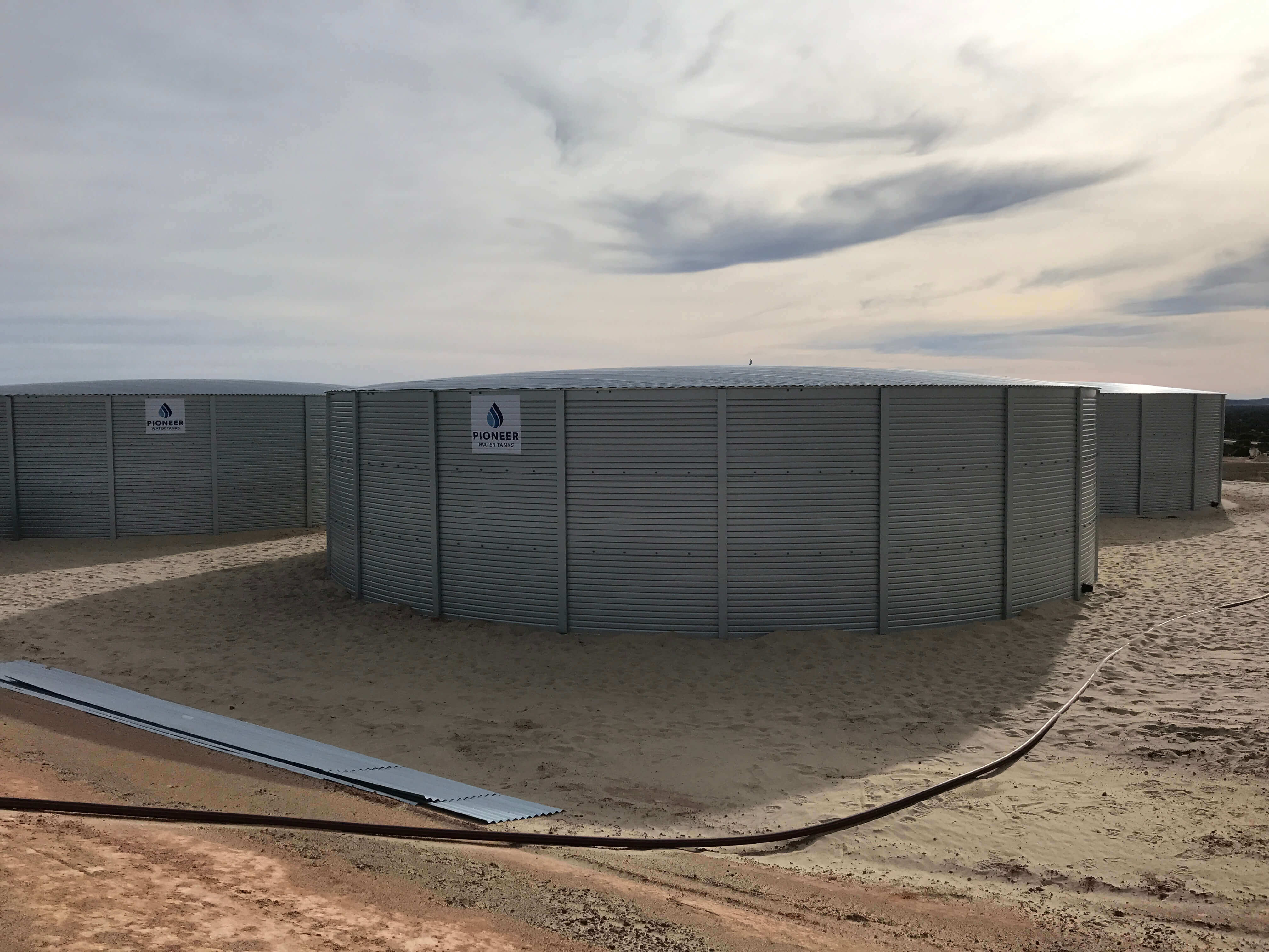 Huckleberry Tanks And Sheds - Commercial Scale Water Tanks
