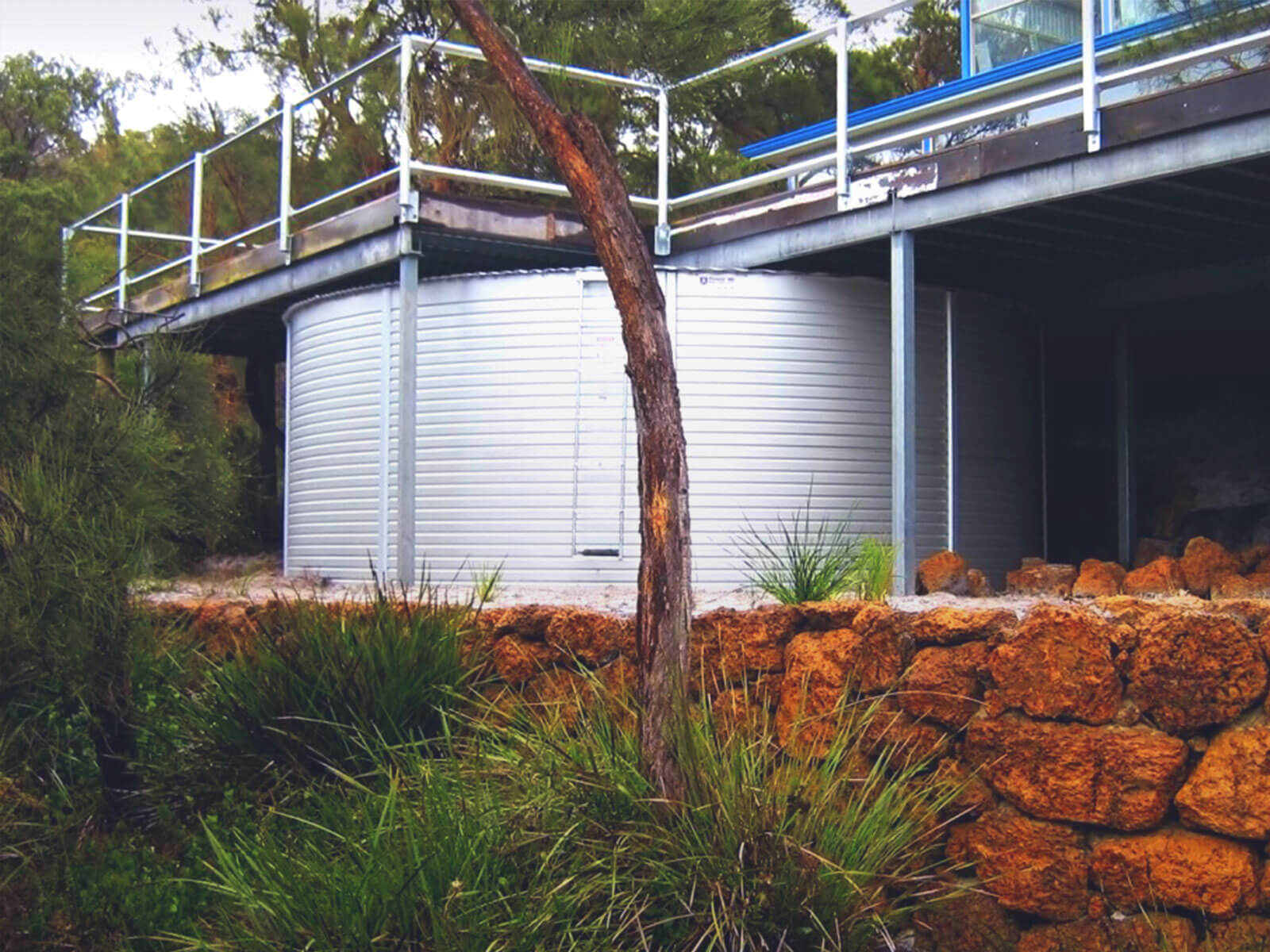 Huckleberry Tanks And Sheds - Roof Plumbing